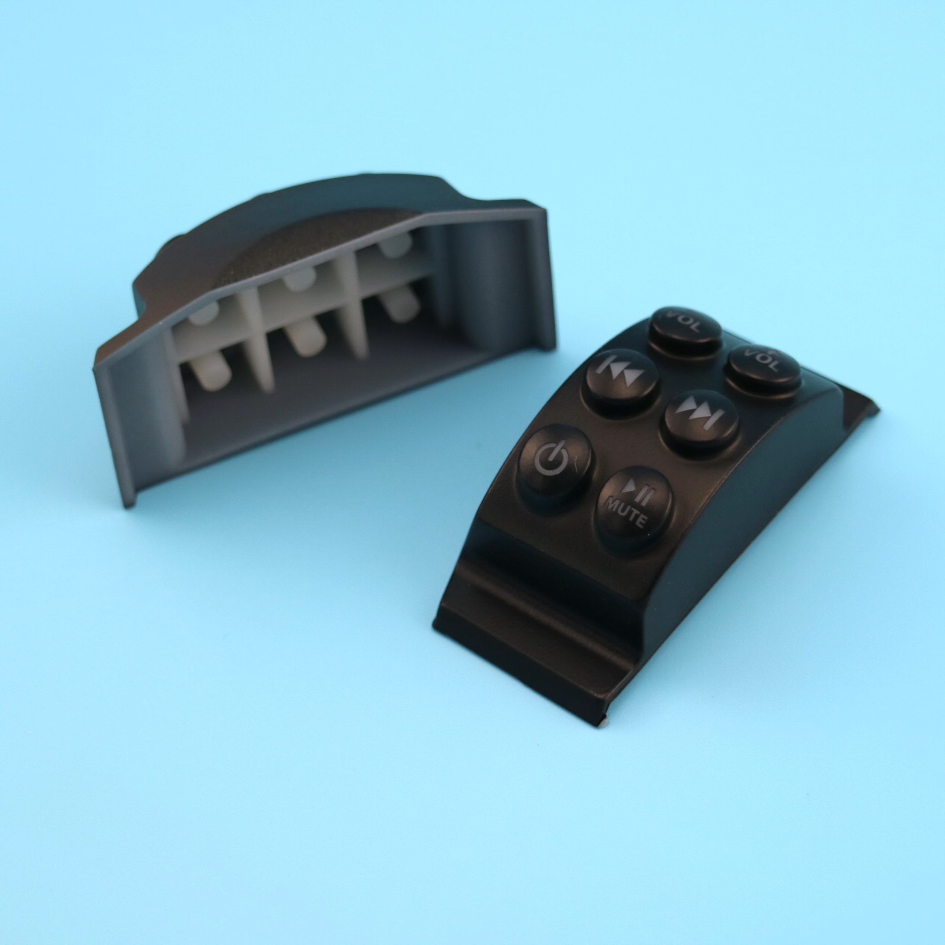 Varicoloured Silicone Rubber Keypad, silicone button from China manufacturer